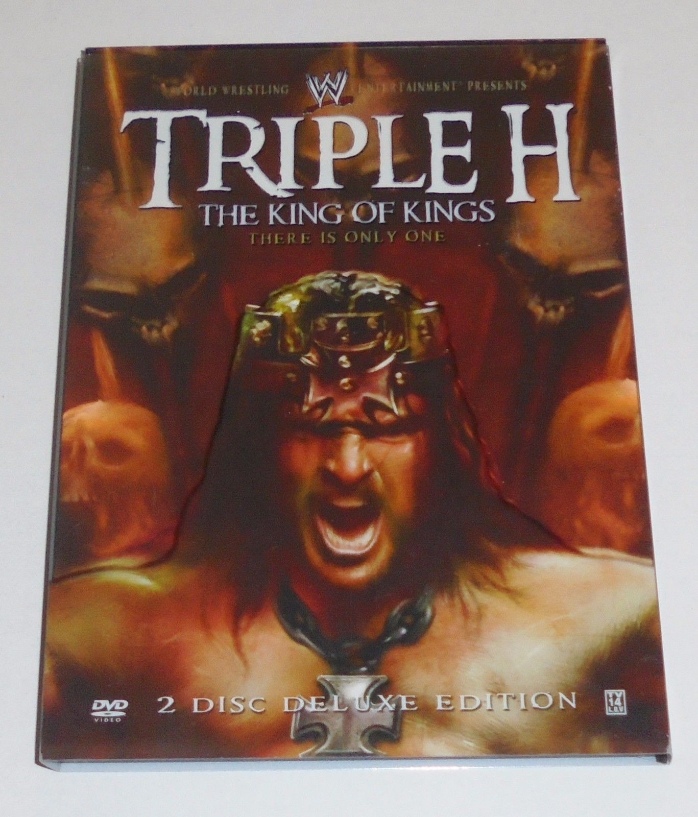 WWE - Triple H: The King of Kings (DVD, 2008, 2-Disc Set) WWE Pro Wrestling