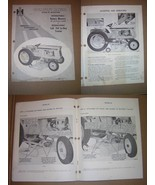 "International 48"" and 60"" 3-Spindle Rotary Mower Operator's Manual - $9.00"