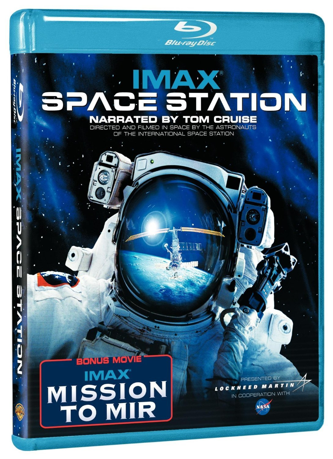 Imax Space Station/Mission To Mir (Blu-ray Disc, 2008) OOP