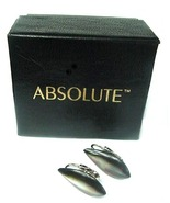 Absolute Mother of Pearl Teardrop Clip On Earrings + Box - $12.00