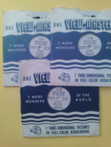 View-Master 3 Reel Set  Pennsylvania The Keystone State 1955 - $8.00