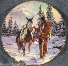 Morning Of Reckoning by Chuck Ren The Last Warriors Collector Plate - $23.70
