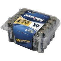 RAYOVAC 815-30PPTJ Alkaline Batteries Reclosable Pro Pack (AA; 30 pk) - $34.84