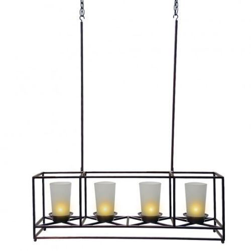 Partylite candle 1 customer review and 33 listings partylite 4 candle bronze framework chandelier and centerpiece 8400 aloadofball Image collections
