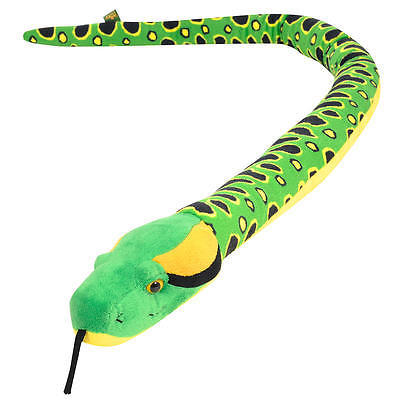 Toys R Us Plush 50 Inch Anaconda Snake - Yellow and Green #5F5E535