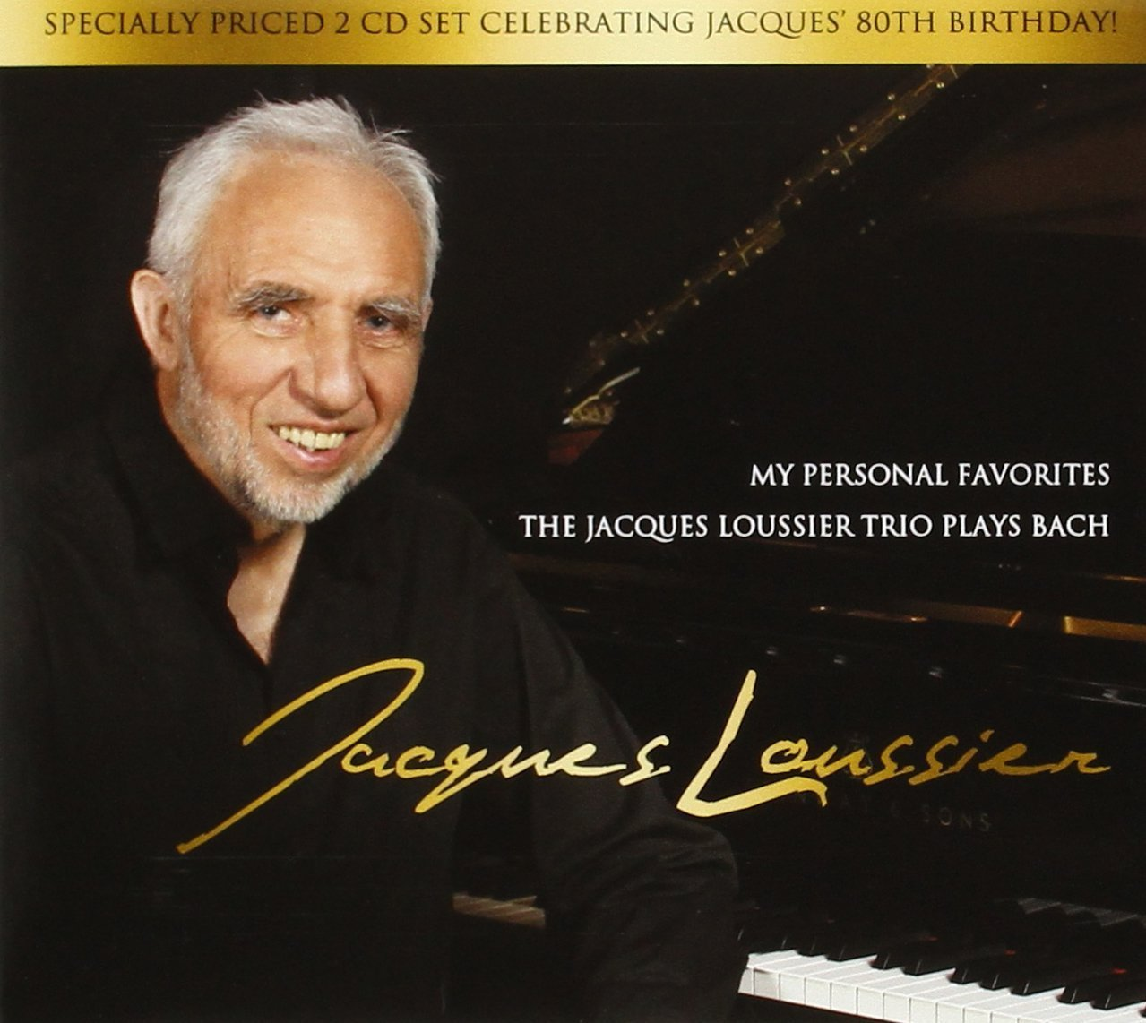 My personal favorites by jacques loussier   instrumental   2cd