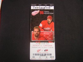 NHL 2009-10 Detroit Red Wings Ticket Stub Vs. Carolina 01-14-10 - $2.96
