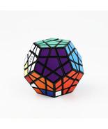 12 Color Layers High Speed Twist Magic Cube QJ Toy Megaminx Puzzle Black - $10.00