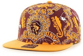 NBA Cleveland Cavaliers Bravado '47 Captain Adjustable Snapback Hat, Wh... - $50.75