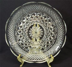 Anchor Hocking Wexford Pattern 5 Part Relish Dish Tray Clear Pressed Glass - $7.99
