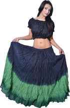 12 yard Long Skirt Flamenco Belly Dance - $22.34