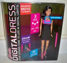 Barbie Digital Dress Electronic Barbie Doll Nikki Pink & Black Dress New - $23.50