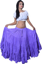 "25 yard belly dance skirt - belly dance skirts 40"" long - $31.36"