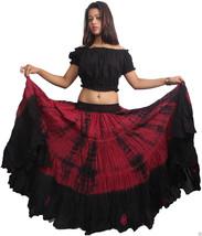 25 yard Tribal belly Dance Long dance skirts Dance EHS - $46.55
