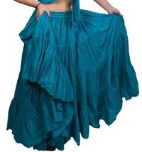 Belly dance 25 yard spanish dance skirt Dance EHS - $44.10
