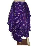Polka dot tribal skirt with variation - 25 Yard Jaipur Cotton Rajasthani... - $35.17+