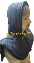 Kette Mail Gepolstert Rüstung Kappe Baumwolle Innen Schwarz ABS - $19.31