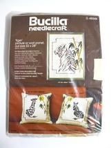 "Bucilla Needlecraft TIGER Picture Wall Panel 22 x 28"" #48544   - $15.40"