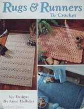 Crochet Rugs and Runners, rug patterns using yarn - $10.40