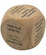 Wooden Religious Prayer Starter Cube for Kids, 1 1/4 Inch - $8.90