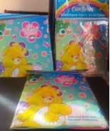 Care Bears Stretchable Standard Fabric Bookcovers Lot of three New - $11.30