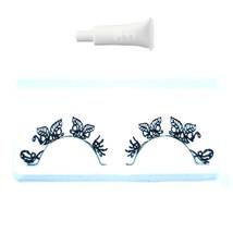 Unique Black Butterfly Party Eyelashes Eyelash + GLUE - $6.14