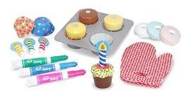 Melissa & Doug Bake and Decorate Cupcake Set - $18.76