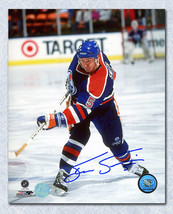 Steve Smith Edmonton Oilers Signed 8x10 Photo - $25.00