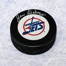 Joe Daley Winnipeg Jets Signed Vintage Logo Hockey Puck - $26.00