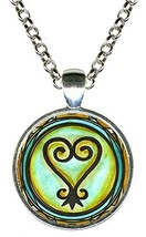 Adinkra SANKOFA To Learn From The Past Silver Pendant - $14.95
