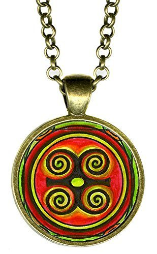 Adinkra DWENNIMMEN Humility with Strength Bonze Pendant