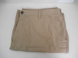 "Merona~Sz 42 waist~Khaki Tan~Flat Front Cargo Shorts with 10"" inseam - $9.95"