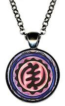Adinkra NYAME YE OHENE Majesty God is King Gunmetal Pendant - $14.95