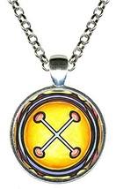 Adinkra NYAME NNWU NA MAWU Gods Omnipresence Silver Pendant - $14.95