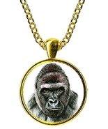 """Gorilla 1"""" Gold Pendant - $14.95"""