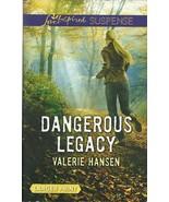 Dangerous Legacy Valerie Hansen (Love Inspired ... - $3.75