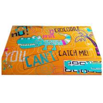 Flannel Carpet Mat Animal Pattern   joyful crocodile - $110.99