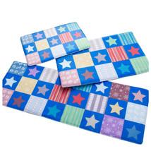 Stars Ground Foot Non-slip Mat Carpet  blue    40*60cm - $18.99+