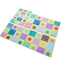 Stars Ground Foot Non-slip Mat Carpet   yellow  40*60cm - $18.99+