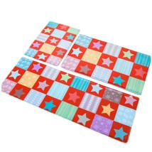 Stars Ground Foot Non-slip Mat Carpet   red   40*60cm - $18.99+