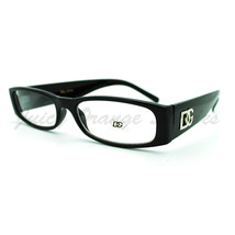 Oval Rectangular Clear Lens Eyeglasses Womens Smart Look Animal Print - $8.05