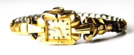 Vintage Women's Omega 14k Gold Filled 480 Manual Wind Wristwatch 13mm - $98.99
