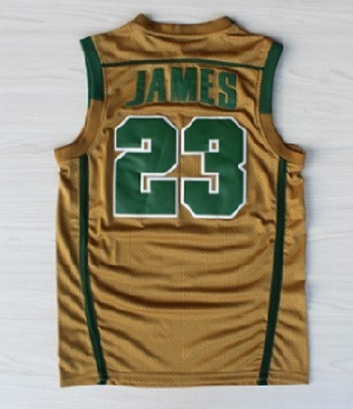 Lebron james jersey 23 st mary high school irish throwback for Irish jewelry stores in nj