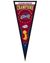 "Cleveland Cavaliers 2016 NBA Champions - 13"" x 33"" Framed Pennant - $33.11"