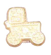 24 Capias Mini Charms For Wedding Shower Baby Favors - Baby Buggy - $2.38