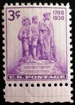1938 3c Northwest Territory 150th Anniversary Scott 837 Mint F/VF NH - $0.99