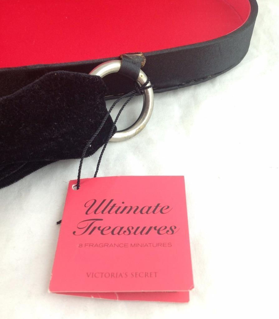 Victoria's Secret Ultimate Treasures Cosmetic Bag Empty w/tag Rhinestone Purse image 5