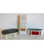 Vintage Petite Princess Dollhouse Lot of 3 Table and Two Buffets - $30.00