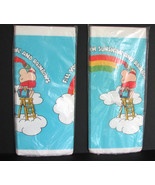 Vintage Ziggy Tablecloth American Greetings Rainbows NOS Paper Party - $12.00