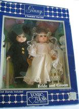 Vintage Ginny Bride and Groom Vogue Doll MIB 19... - $99.00